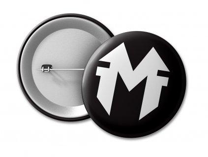 placka MD Black 50 umístění na eshop