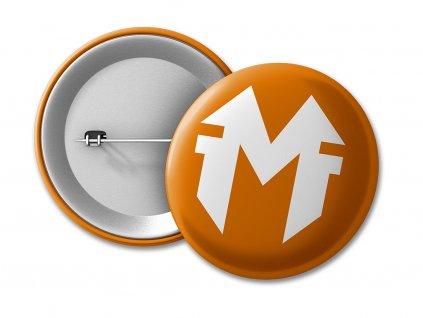 placka MF orange 50 umístění na eshop