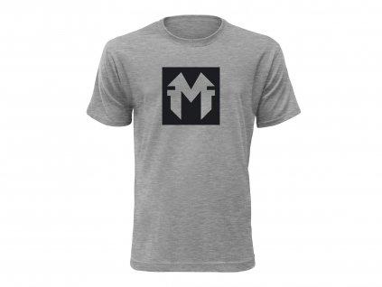 Tričko MindFinder šedé CLASSIC MOCK UP