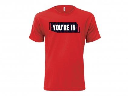 Tričko Not Yet červené