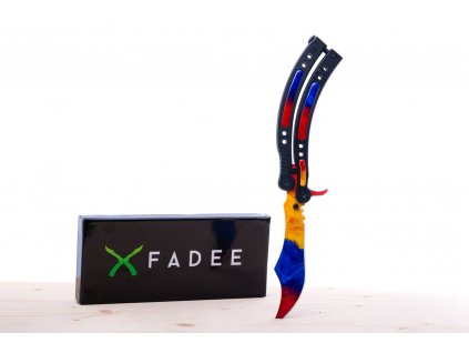 (BS) Butterfly Marble Fade - ostrý