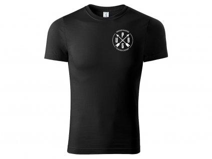 Tričko PUBG Minimalist černé