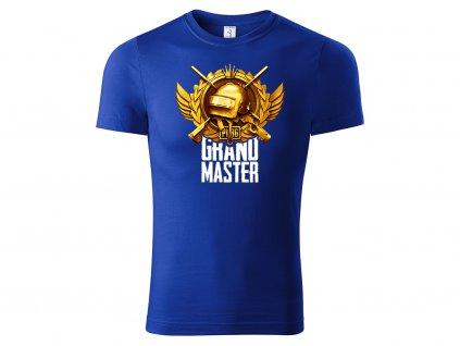 Tričko Grand Master modré