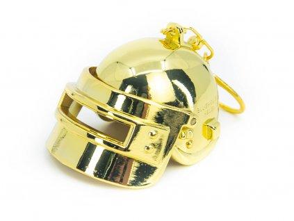 Přívěsek na klíče PUBG Helma LVL3 Gold 1