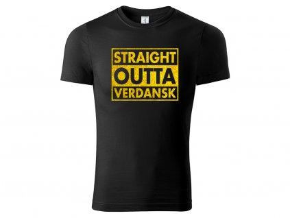 Tričko COD Straight Outta Verdansk