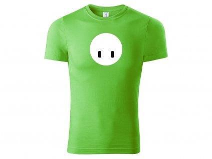 Fall guy face zelená