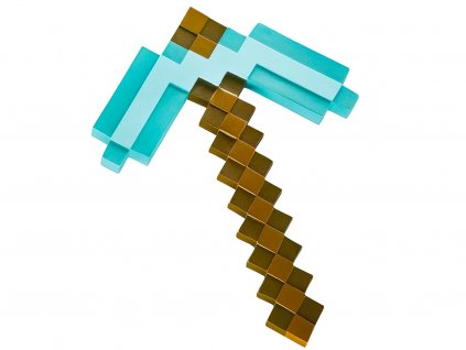 Minecraft Foam Diamond Pickaxe pTRU1 17086921dt