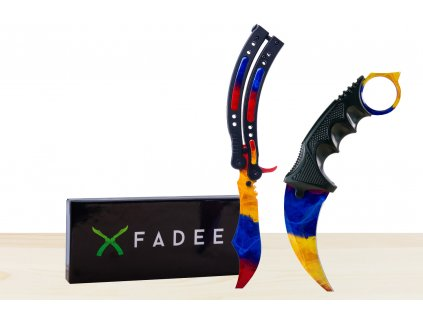 Karambit a Butterfly - Marble Fade