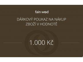 Dárkový voucher 1000 Kč