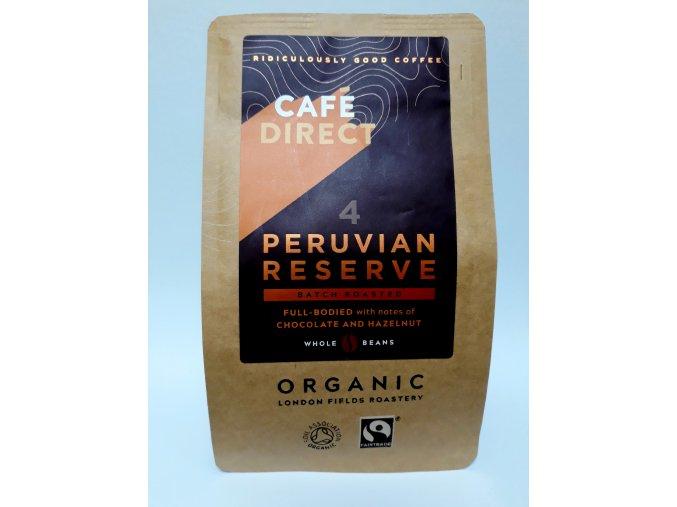 Cafédirect BIO Peru mletá káva 227 g