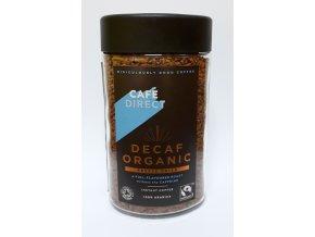 Cafédirect BIO instantní káva bez kofeinu 100g