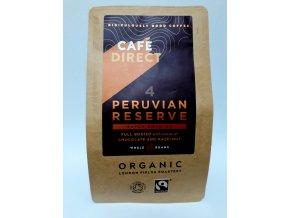 Cafédirect BIO Peru zrnková káva 227 g