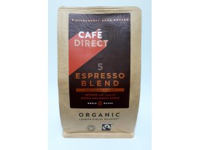 Cafédirect BIO Espresso zrnková káva 227 g