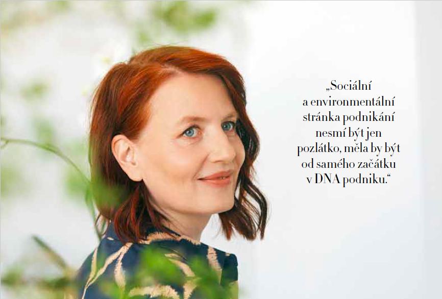 Markéta Vinkelhoferová v Harper's Bazaar: Co je dobrý život