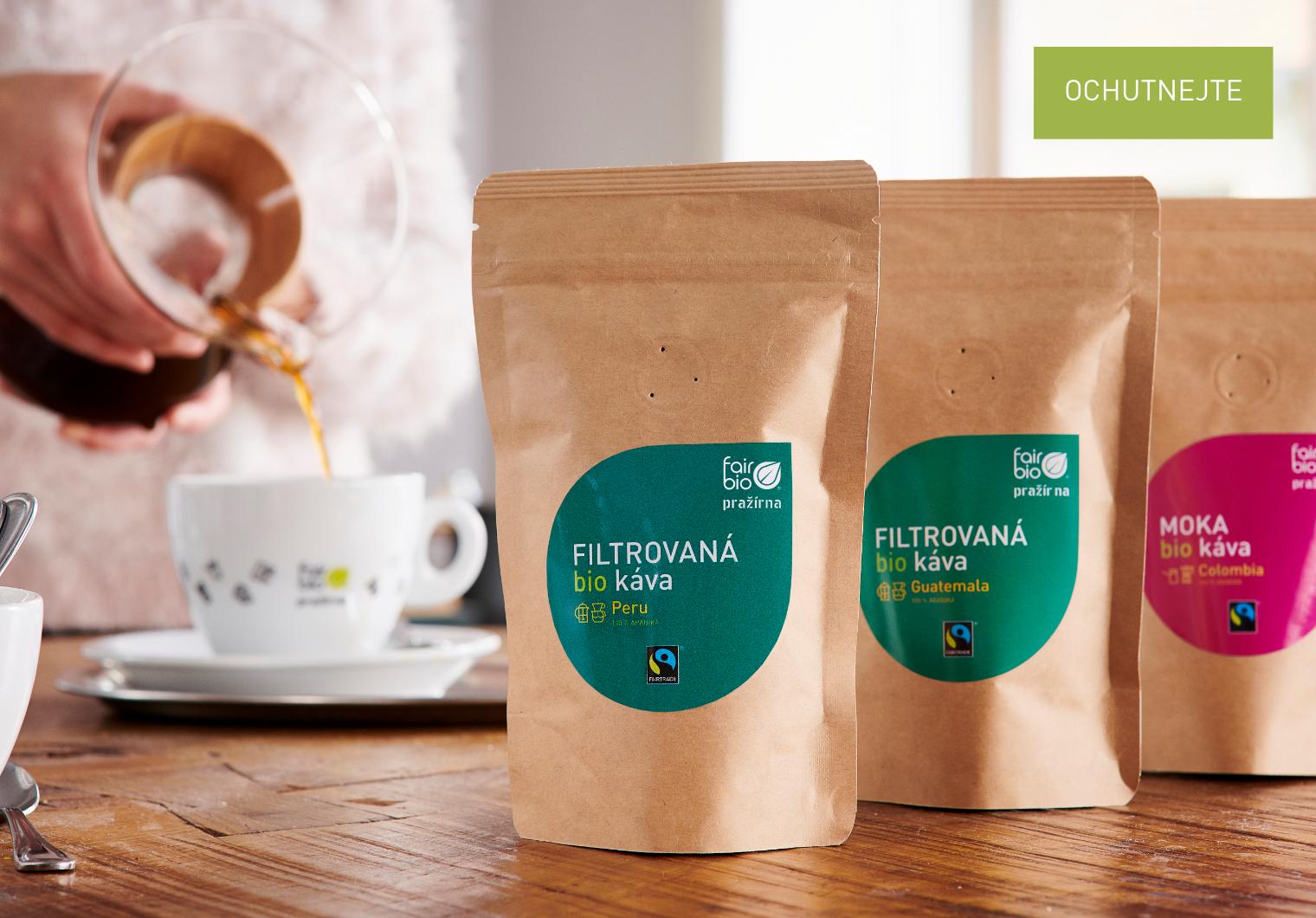 Káva filtr moka degustační set