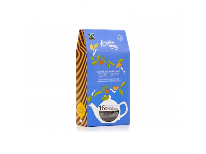 earl grey 16 pyramidek bio a fairtrade