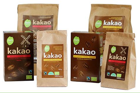 Fairtrade Bio kakao kakaový prášek