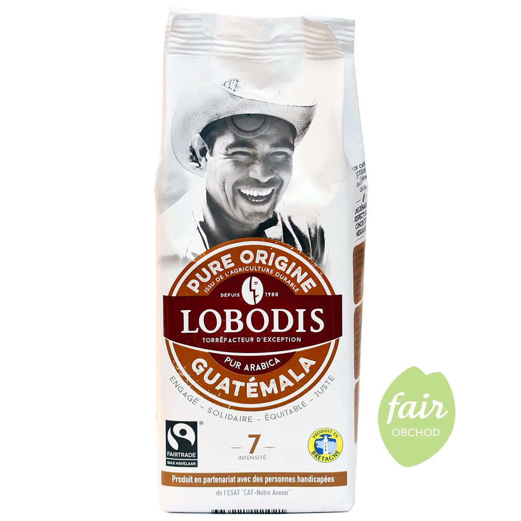 fairtrade mleta kava arabika guatemala 250g
