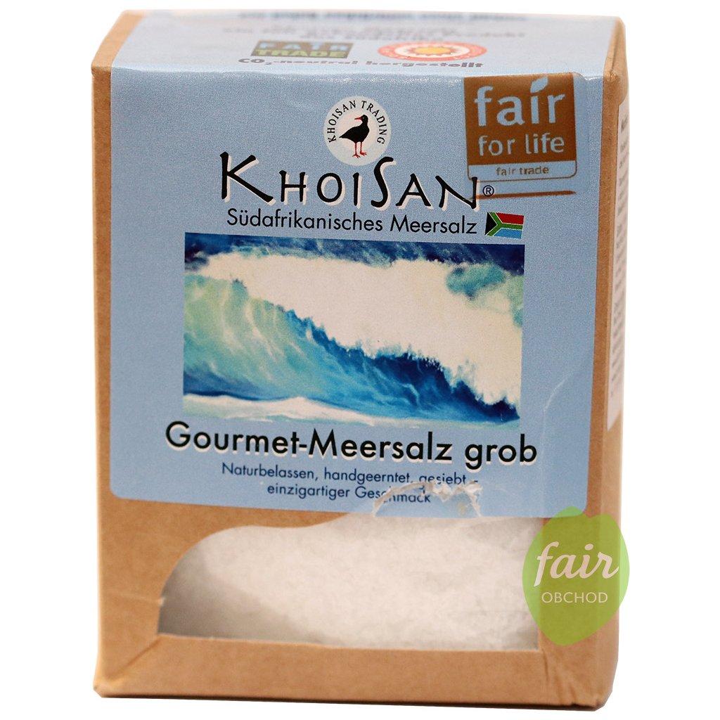 fair trade khoisan morska sul hruba 500g