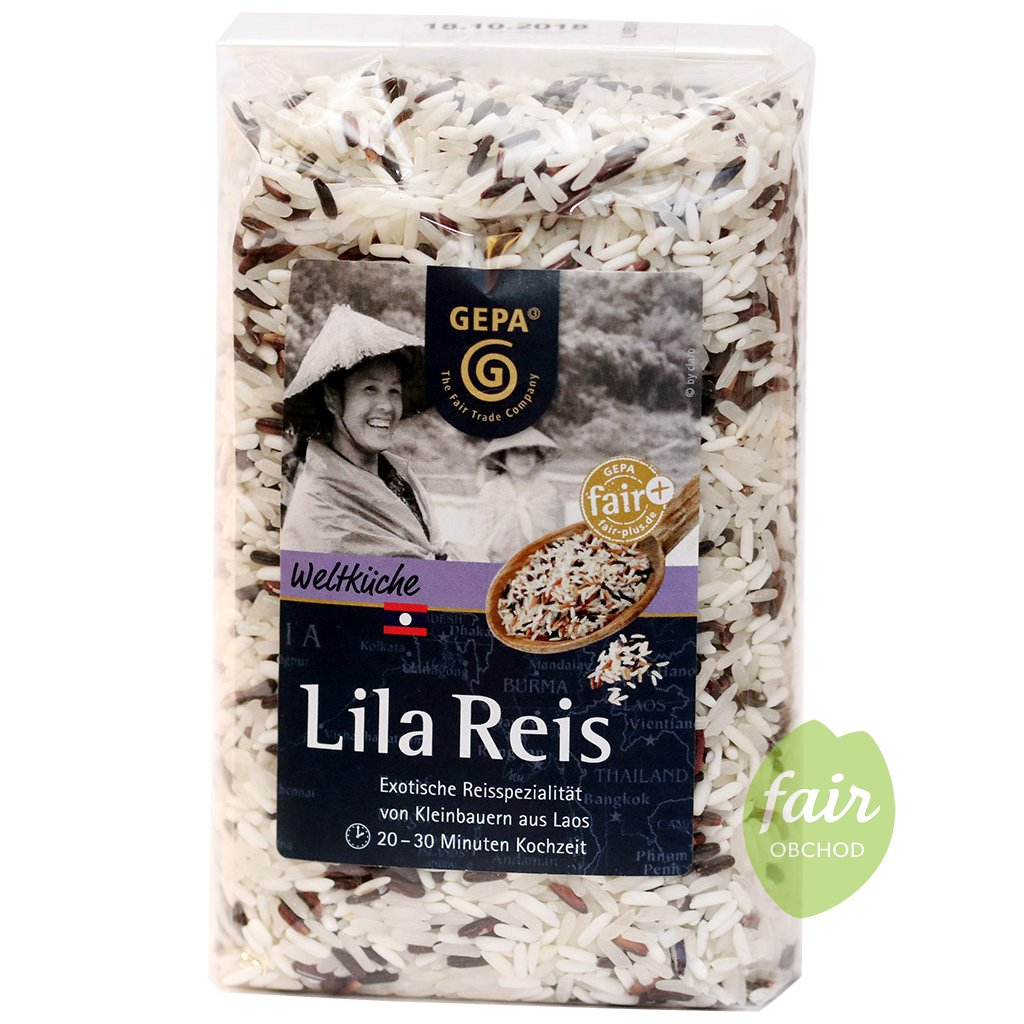fair trade lila ryze laos 500g