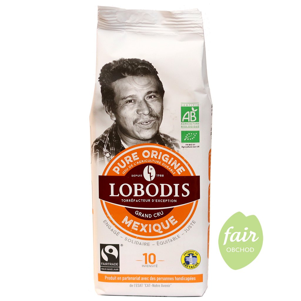 fairtrade bio mleta kava arabika robusta mexiko 250g