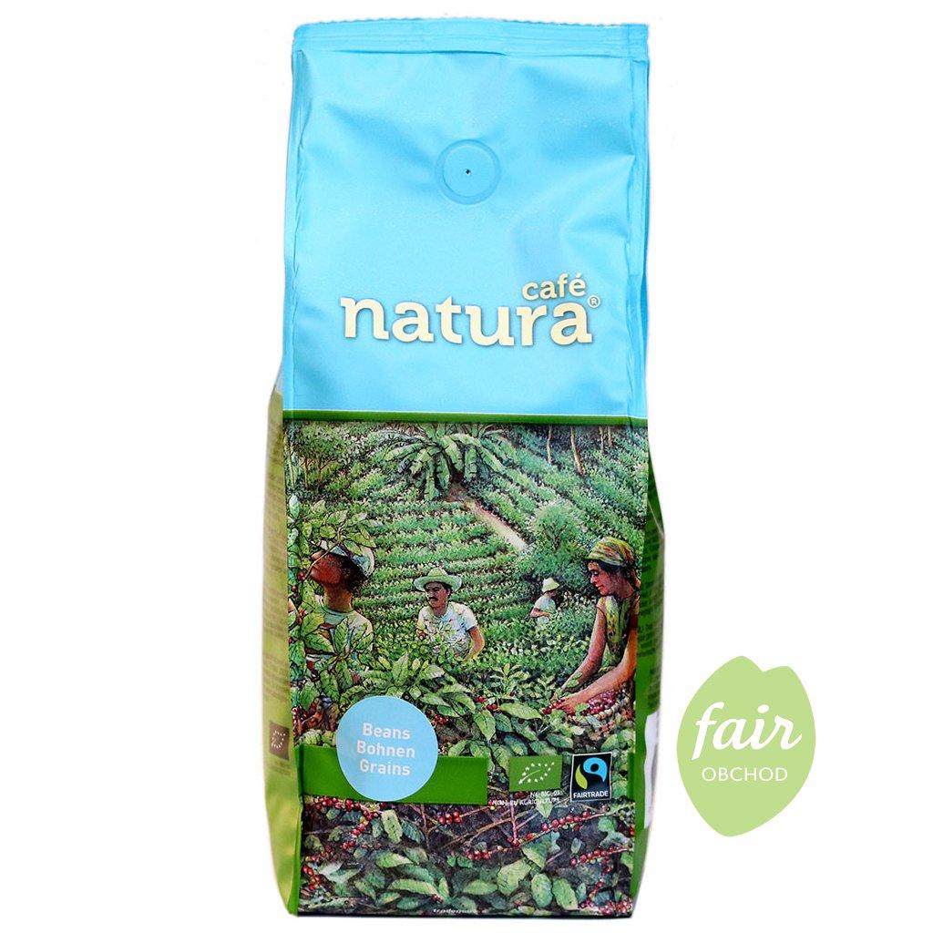 fairtrade bio zrnkova kava natura 500g