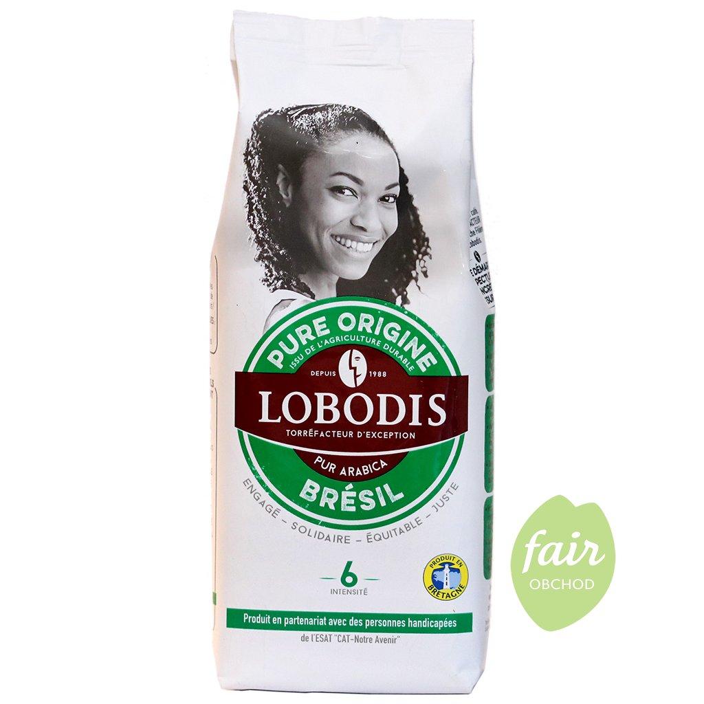 fair trade mleta kava arabika brasilie 250g
