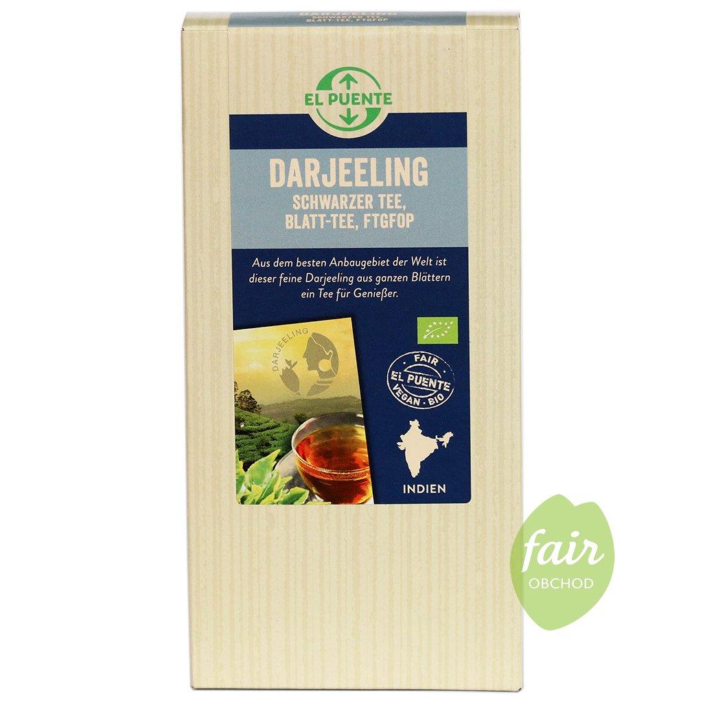 fair trade sypany bio cerny caj darjeeling ftgfop 90g