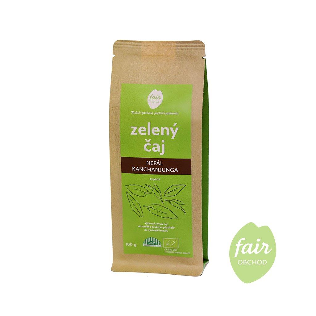 fair trade sypany bio zeleny caj nepal 100g