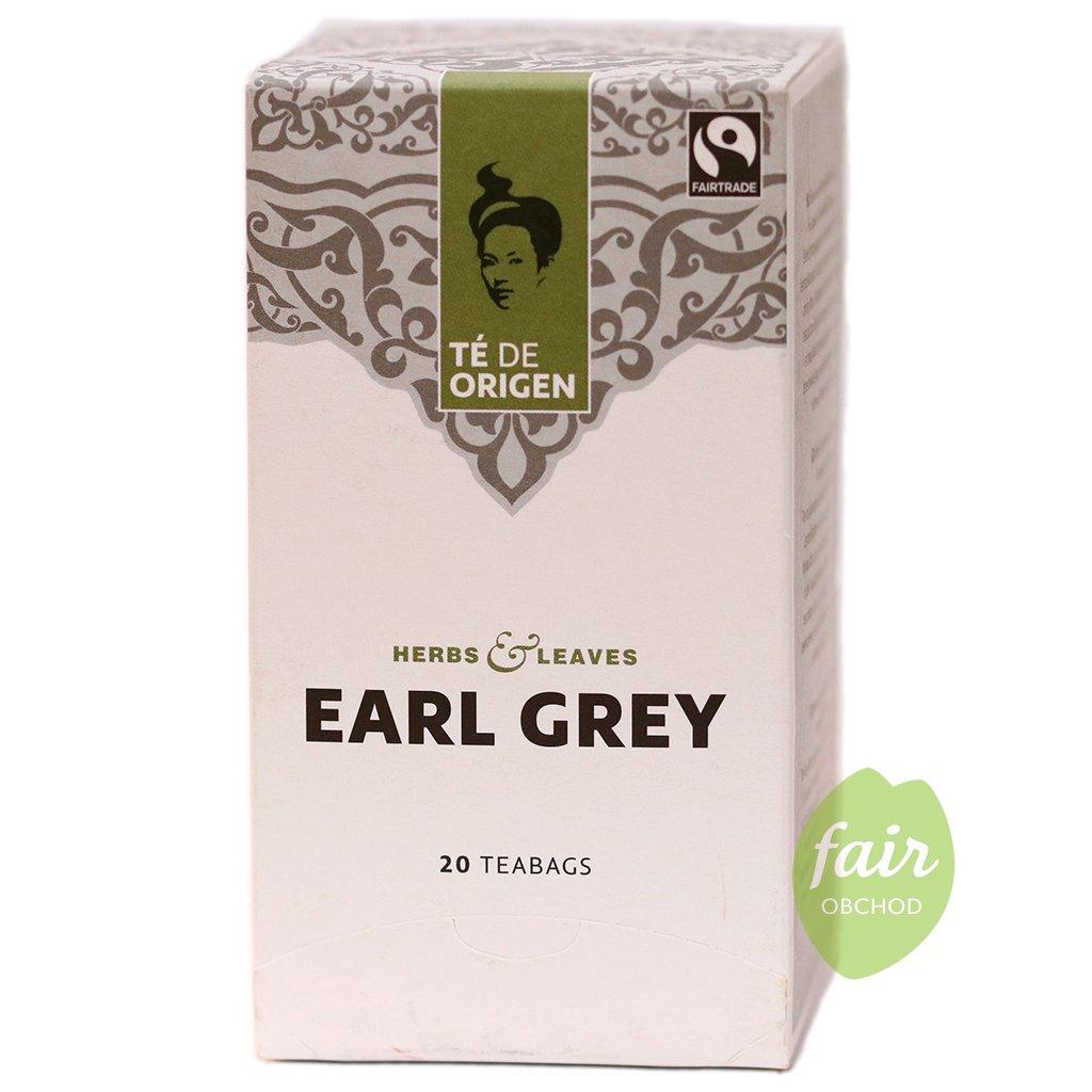 fairtrade bio cerny caj earl grey porcovany 20x2