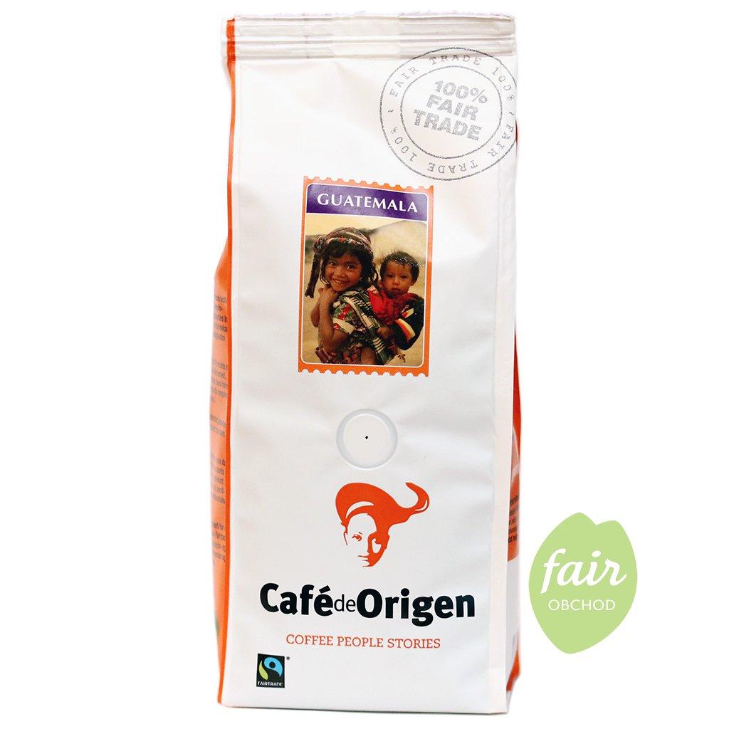 fairtrade zrnkova kava guatemala shb 250g