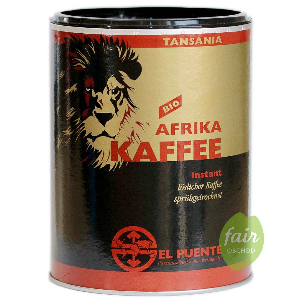 bio fair trade instantni kava afrika 200g