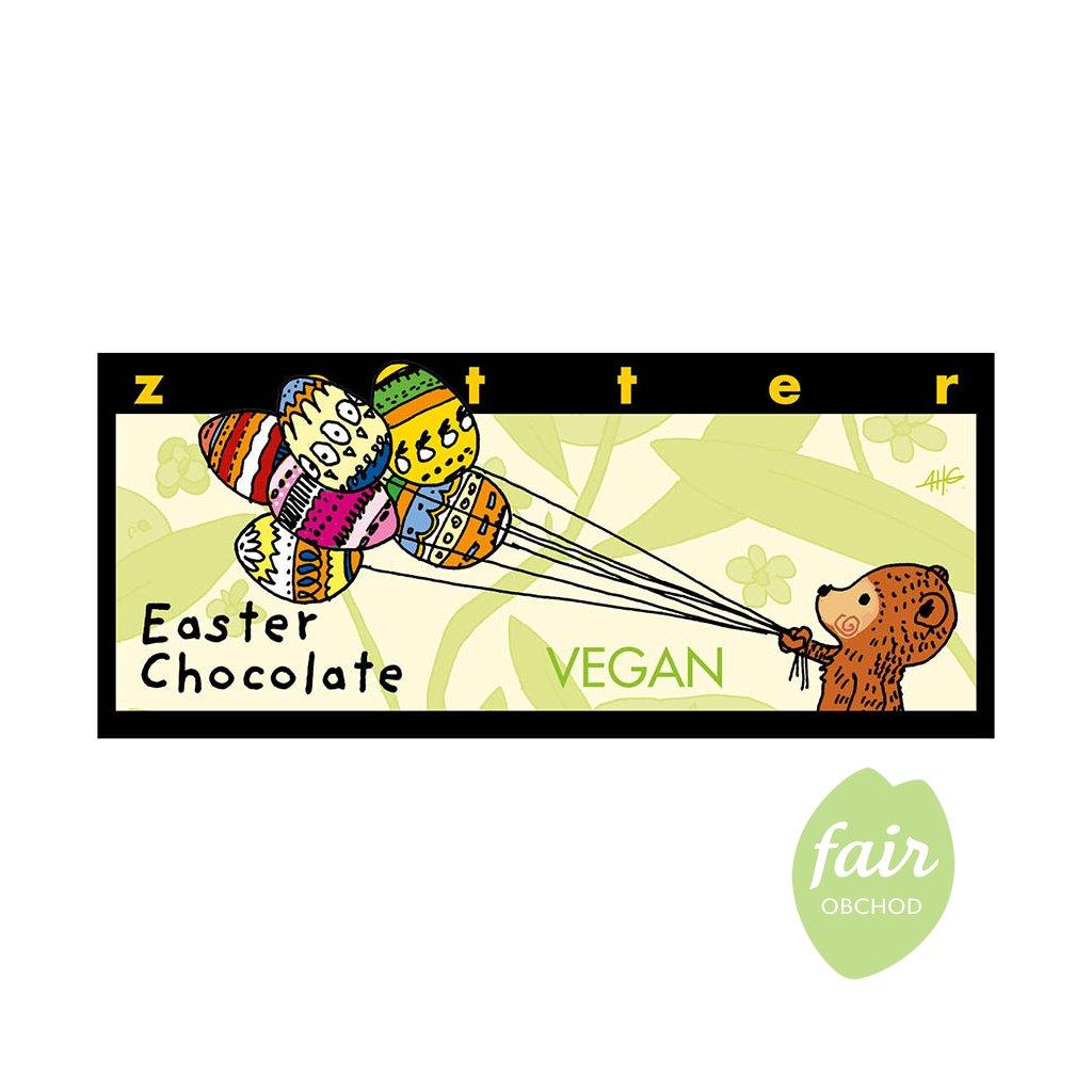 Fair trade bio hořká velikonoční čokoláda Zotter