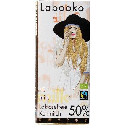 fairtrade bio mlecna cokolada zotter bez laktozy 50%