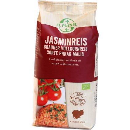 fair trade bio ryze jasminova hneda 500g