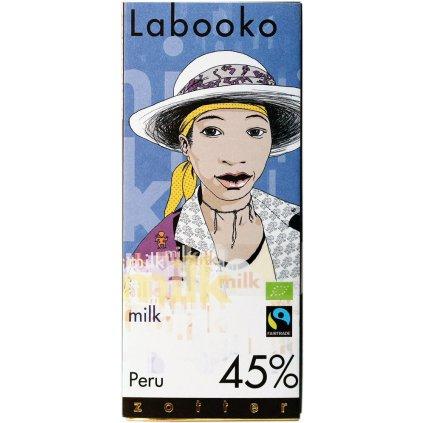 fairtrade bio mlecna cokolada zotter peru 45%