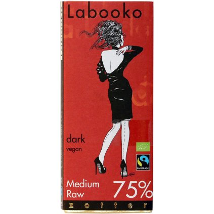 fairtrade bio horka cokolada zotter raw medium 75%