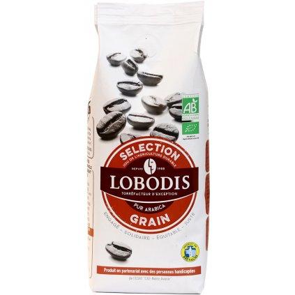 fair trade bio zrnkova kava vyberova lobodis 250g