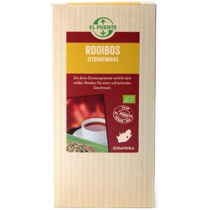 fair trade bio rooibos citronova trava sypany 120g