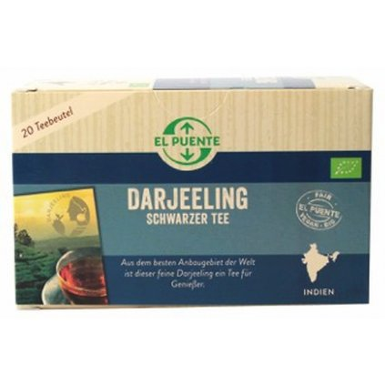 Fair Trade bio černý čaj Darjeeling porcovaný
