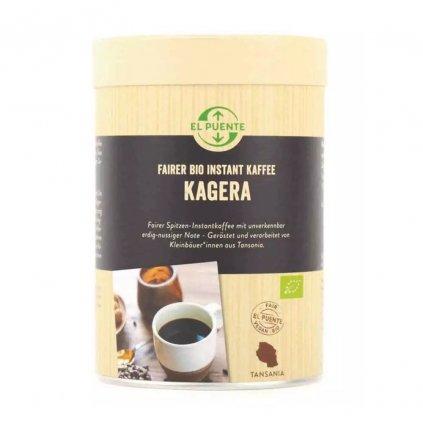 Fair trade bio instantní káva z Tanzanie, 120 g