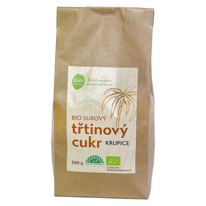Fairobchod Bio třtinový cukr, 500 g Fair trade