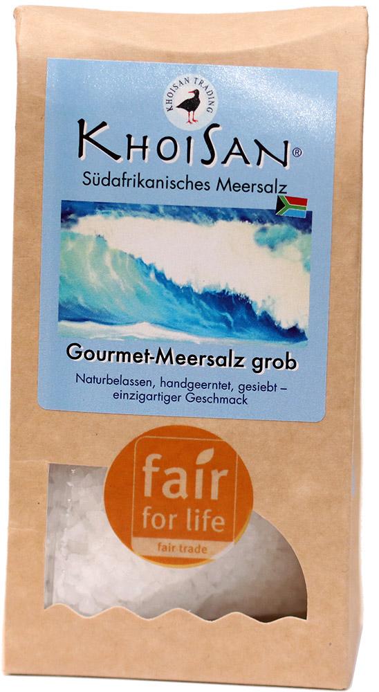 KhoiSan mořská sůl polohrubá, 150 g Fair for Life