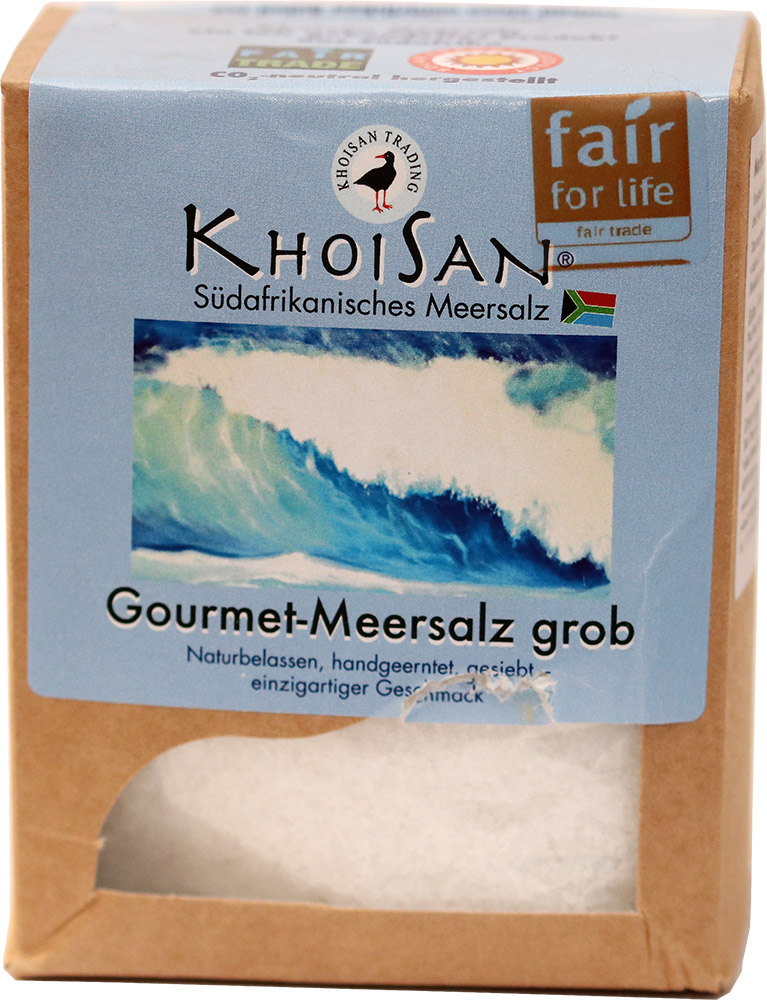 KhoiSan mořská sůl hrubá, 500 g Fair for Life