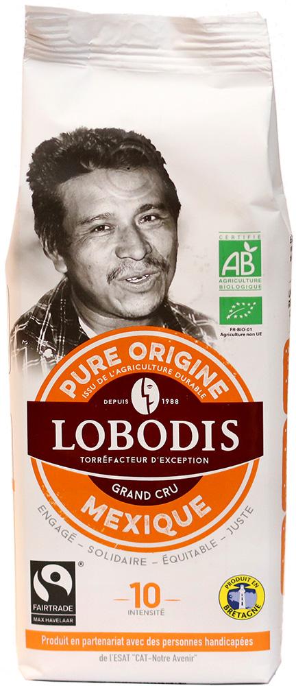 Lobodis Bio mletá káva z Mexika, 250 g Fairtrade