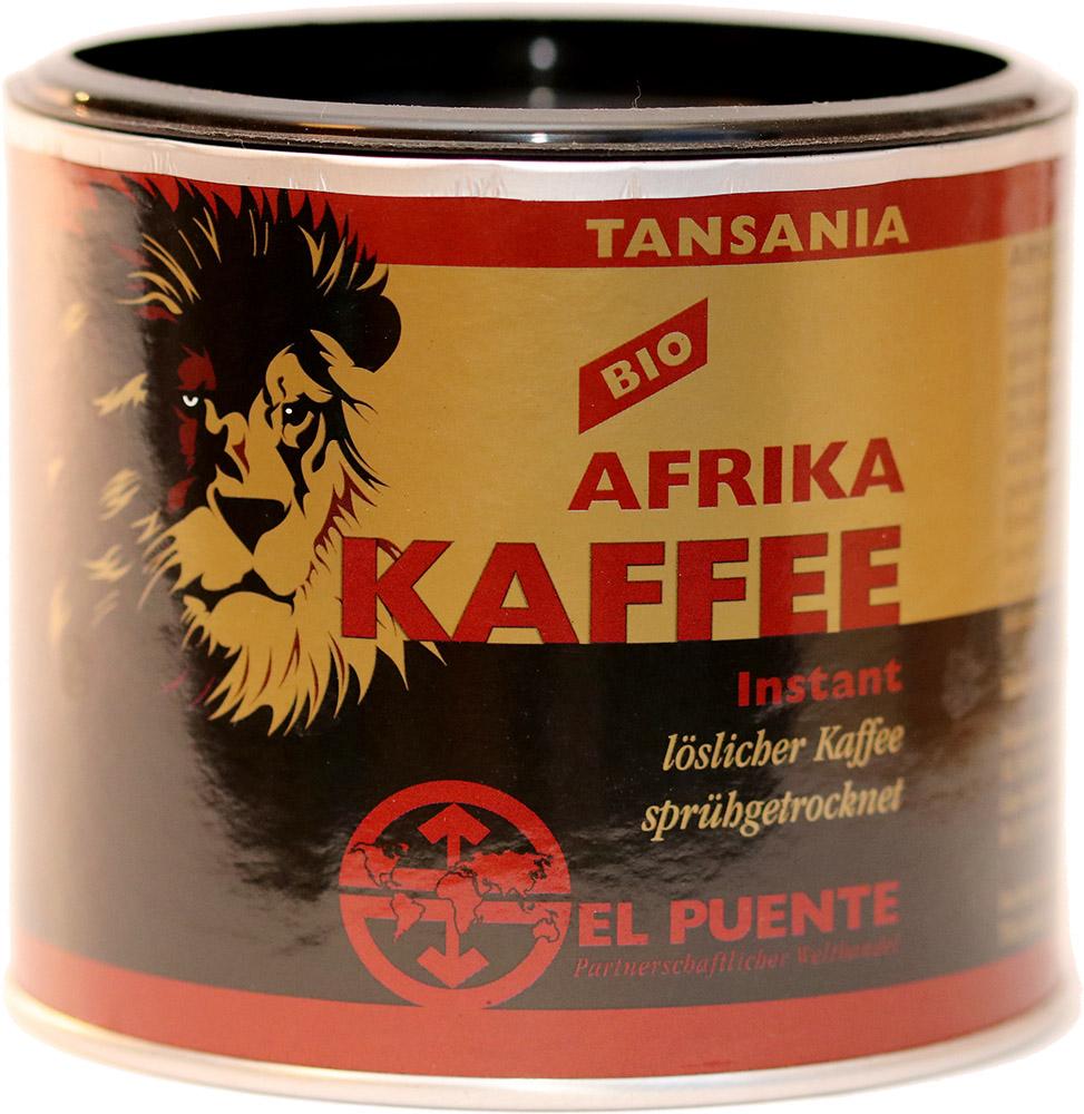 El Puente Bio instantní káva Afrika, 100 g El Puente Fair Trade