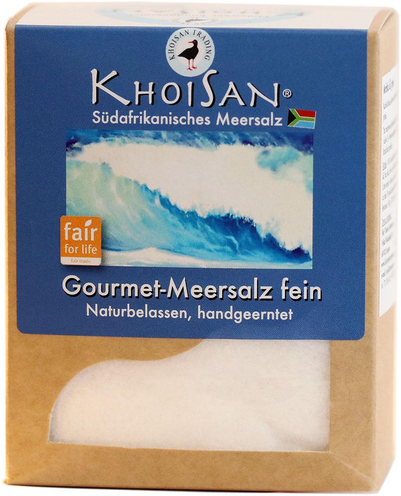 KhoiSan mořská sůl jemná, 500 g Fair for Life