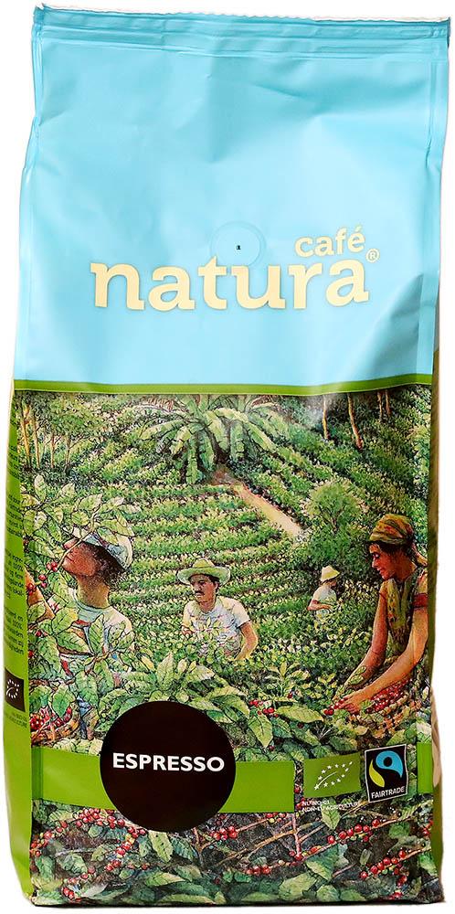 Neuteboom Bio zrnková káva Natura espresso, 1 kg Fairtrade