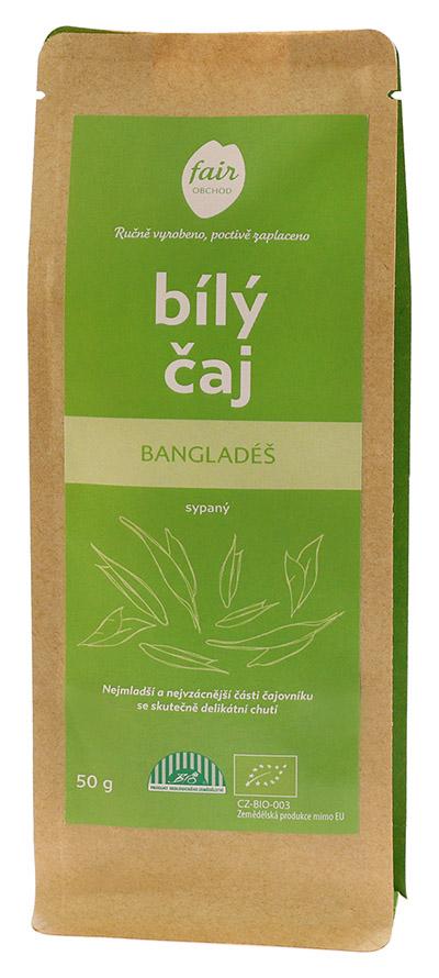 Fairobchod Bio sypaný bílý čaj z Bangladéše, 80 g