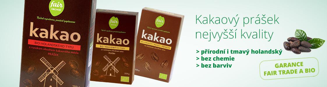 Fair trade bio kakaový prášek